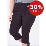 Women's Stretch Twill Capri