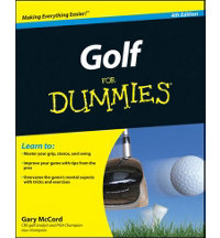 Golf For Dummies Book - 4th Edition