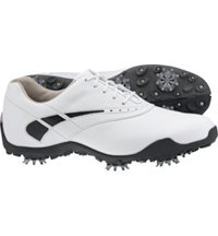 Women's Closeout LoPro Collection - White/Black Golf Shoes (FJ#97239)