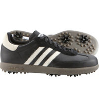Men's Samba Golf Shoes (Black/White/Gum)