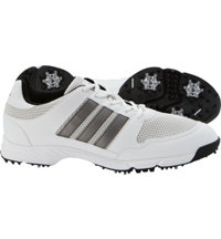 Men's Tech Response 4.0 Golf Shoes - White/Dark Silver Metallic
