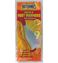 Insole Foot Warmers With Adhesive