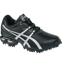 Men's GEL - Linksmaster Golf Shoes (Black/Silver/Gunmetal)