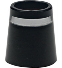 Unit Wood Ferrules Black/Silver/Black Dozen