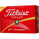 Personalized DT Trusoft Golf Balls