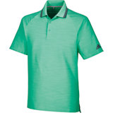 Men's Ultimate Textured Stripe Short Sleeve Polo