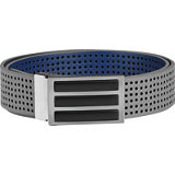 Men's 3 Stripe Perforated Reversible Belt