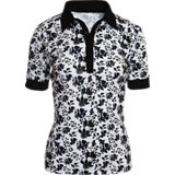 Women's Mandy Short Sleeve Floral Print Polo
