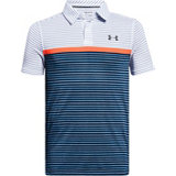 Boy's Threadborne JS Super Stripe Short Sleeve Polo