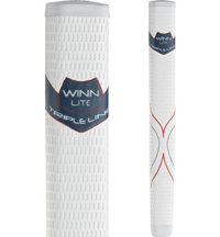 Excel WinnLite Jumbo Red/White/Blue Pistol Putter Grip (+1/8