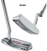 Anser Milled Putter - Black Dot