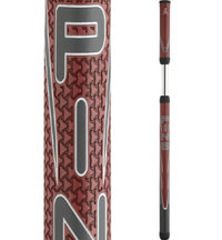 AVS Red/Gray 2-Piece Putter Grip