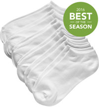 Women's No-Show Socks - 6-Pack