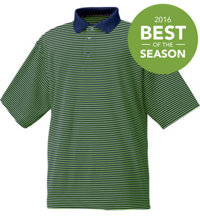 Men's Seasonal ProDry Performance Lisle Stripe Polo