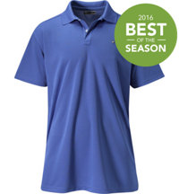 Men's Big & Tall Textured Poly Polo