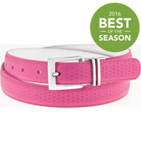 Women's Perforated to Smooth Reversible Belt