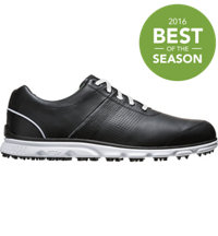 Men's DryJoys Casual Spikeless Golf Shoes - Black/White