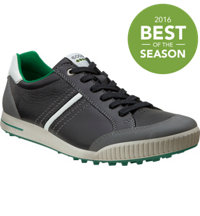 Men's Golf Street Spikeless Golf Shoes - Black Shadow/White/Meadow