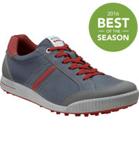 Men's Golf Street Spikeless Golf Shoes - Ombre/Port/Brick