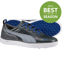 Men's Monolite Spikeless Golf Shoes - Grey/White/Blue