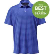Men's Big & Tall Striped Polo