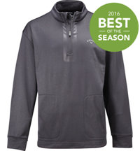 Men's Big & Tall 1/4 Zip Heather Pullover