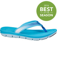 Women's Apres 18 Slide - Clearwater/Clearwater/Dark Electric