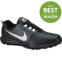 Men's Explorer Spikeless Golf Shoes - Black/Metallic Silver/Cool Grey