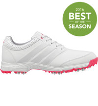 Women's Response Light Golf Shoes - Running White/Silver Met/Flash Red