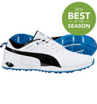 Men's Biofly Spikeless Golf Shoes - White/Black/Strong Blue