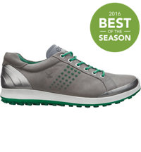 Men's BIOM Hybrid 2 Golf Shoes - Warm Grey/Green