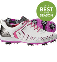 Women's BIOM G2 Golf Shoes - White/Candy
