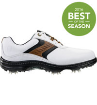 Men's Contour Series Golf Shoes - White/Taupe/Black (FJ# 54130)