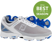 Men's HyperFlex Golf Shoes - White/Grey/Blue (FJ#51022)