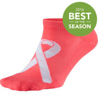 Women's Power in Pink No Show Socks (3-Pack)