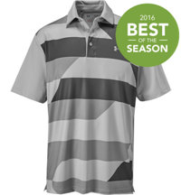 Men's Playoff 19th Hole Print Short Sleeve Polo