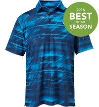 Men's Playoff Launch Print Short Sleeve Polo