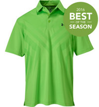 Men's Armourvent Tips Short Sleeve Polo