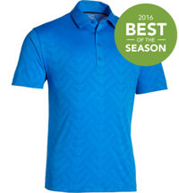 Men's Armourvent Jacquard Short Sleeve Polo
