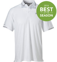 Men's coldblack Tip Short Sleeve Polo