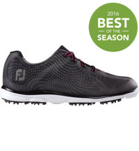Women's emPower Spikeless Golf Shoes - Black/Charcoal (FJ#98003)