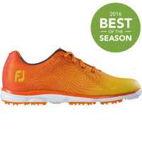 Women's emPower Spikeless Golf Shoes - Orange/Yellow (FJ#98005)