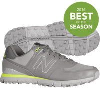 Men's NBG574B Spikeless Golf Shoes - Grey/Yellow