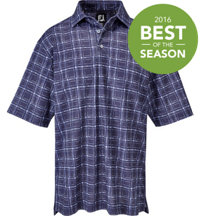 Men's  Brush Stroke Short Sleeve Polo