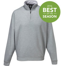 Men's Spun Polo Half-Zip Long Sleeve Top