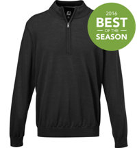 Men's Merino Half-Zip Long Sleeve Top