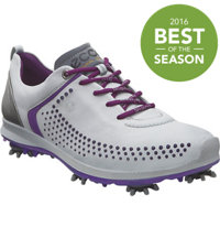 Women's BIOM G2 Spiked Golf Shoes - Concrete/Imperial Purple