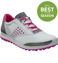 Women's BIOM G2 Hybrid 2 Spikeless Golf Shoes - White/Candy