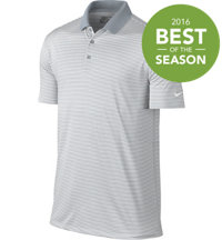 Men's Essential Victory Mini Stripe Short Sleeve Polo
