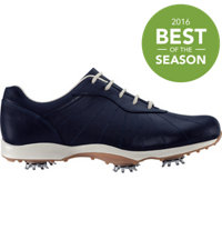 Women's emBody Spiked Golf Shoes - All Over Midnight (FJ# 96102)